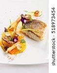 Fine Dining  Fish Fillet...