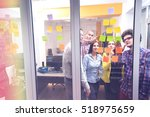 startup business people group...   Shutterstock . vector #518975659