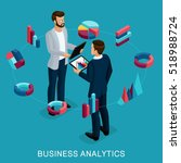 isometric business analyst ...