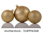 Golden Shiny Christmas Balls...