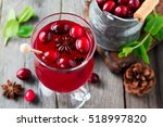Fresh Cranberry Juice With...