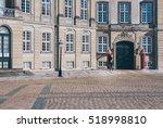 amalienborg square in... | Shutterstock . vector #518998810