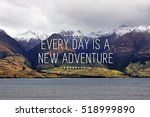 Travel Inspirational Quote Wit...