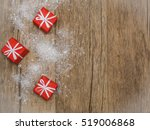 christmas gifts | Shutterstock . vector #519006868