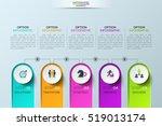 modern infographic design... | Shutterstock .eps vector #519013174