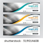 abstract banner design... | Shutterstock .eps vector #519014608