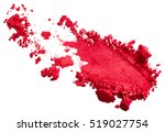 red eye shadow stroke isolated... | Shutterstock . vector #519027754