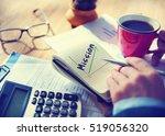 success growth development... | Shutterstock . vector #519056320
