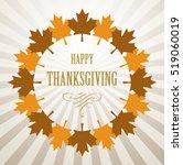 thanksgiving day design   Shutterstock .eps vector #519060019