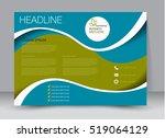 flyer  brochure  billboard... | Shutterstock .eps vector #519064129