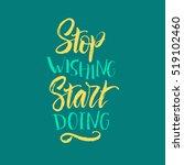 vector illustration. letterning.... | Shutterstock .eps vector #519102460