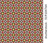 seamless pattern in christmas... | Shutterstock .eps vector #519104764