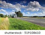 truck on the road | Shutterstock . vector #519108610
