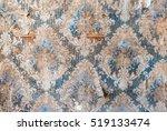 vintage textures  old wallpaper ... | Shutterstock . vector #519133474