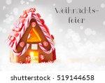 gingerbread house  silver...   Shutterstock . vector #519144658