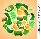 thai dessert   vector...   Shutterstock .eps vector #519158698