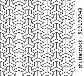 hexagonal grid design vector... | Shutterstock .eps vector #519193948