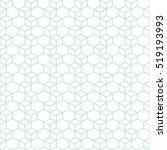 hexagonal grid design vector... | Shutterstock .eps vector #519193993