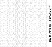 hexagonal grid design vector... | Shutterstock .eps vector #519193999