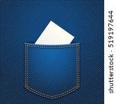 Paper In Jeans Pocket