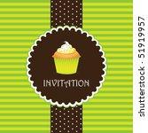Cupcake Invitation Background 07