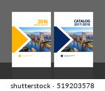 cover design for annual report... | Shutterstock .eps vector #519203578