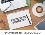 business concept employee... | Shutterstock . vector #519204130