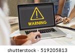 danger alert warning... | Shutterstock . vector #519205813