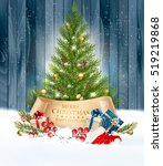 holiday background with a... | Shutterstock .eps vector #519219868