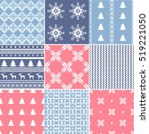 set of  traditional christmas...   Shutterstock .eps vector #519221050
