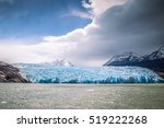 Grey Glacier Landscape In...