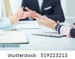 photo of business partners... | Shutterstock . vector #519223213