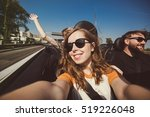 happy group of friends taking... | Shutterstock . vector #519226048