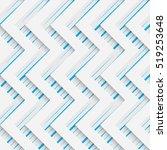 seamless zig zag pattern.... | Shutterstock .eps vector #519253648