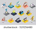 illustration of info graphic... | Shutterstock .eps vector #519256480