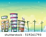 cartoon vector building...
