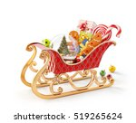 unusual 3d illustration of red... | Shutterstock . vector #519265624