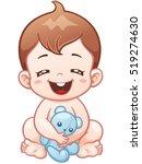 vector illustration of cartoon... | Shutterstock .eps vector #519274630
