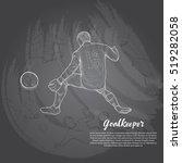 hand drawn illustration of... | Shutterstock .eps vector #519282058