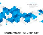 vector of modern abstract... | Shutterstock .eps vector #519284539