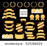 vector collection of decorative ... | Shutterstock .eps vector #519286024