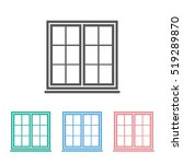 window icon | Shutterstock .eps vector #519289870