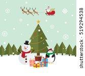 Christmas Santa Claus And...