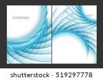 vector brouchures bright... | Shutterstock .eps vector #519297778