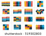 big set of tables  schedules ... | Shutterstock .eps vector #519302803