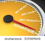 advantage better product price... | Shutterstock . vector #519309643