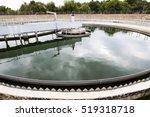 modern urban wastewater... | Shutterstock . vector #519318718