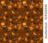 vector seamless pattern for...   Shutterstock .eps vector #519320440