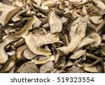 Dried Porcini Mushrooms. Food...
