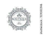 boutique  beauty logo series | Shutterstock .eps vector #519331546